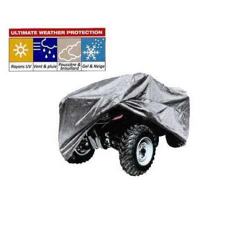 Waterproof protective cover for quadbike, size XL
