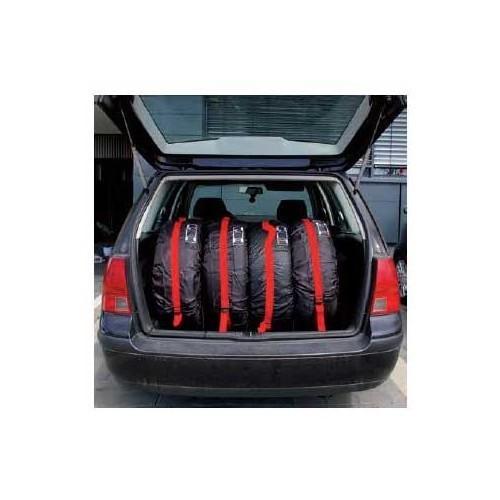 Housses stockage de roues jantes pneus vw 181 for Housse pour roue