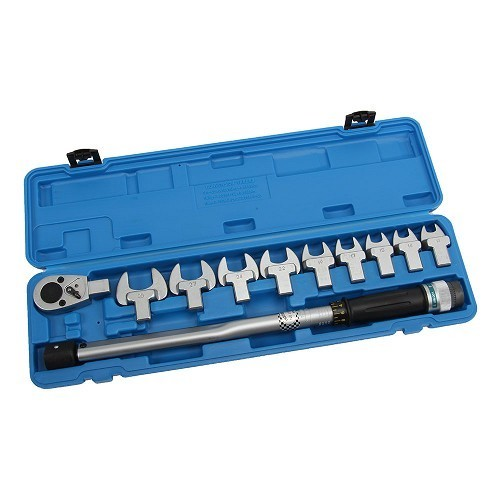 11-piece Torque Wrench Set, 40-210 Nm