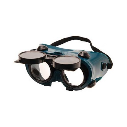 Adjustable welding goggles