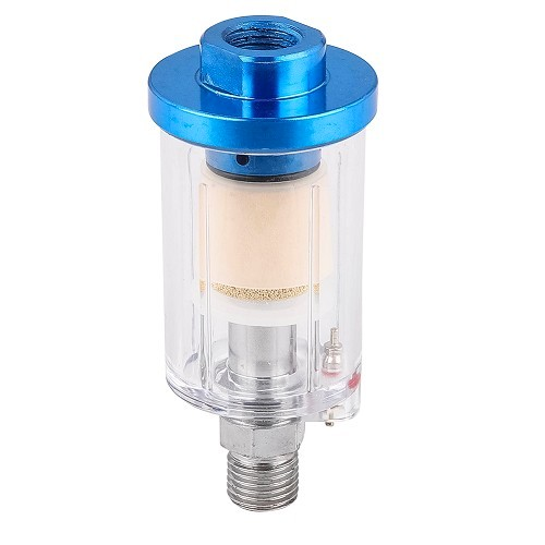 Compact filter for pneumatic tools - 1/4""