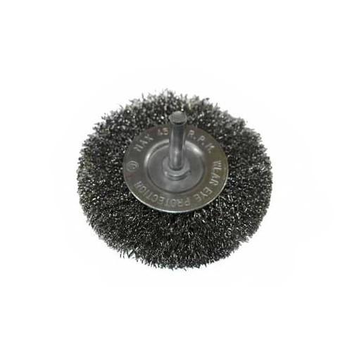 Circular metal brush - 75 mm