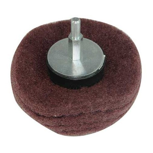 Satin finishing cap on rod 100 mm hand tools mecatechnic for Reduction mecatechnic