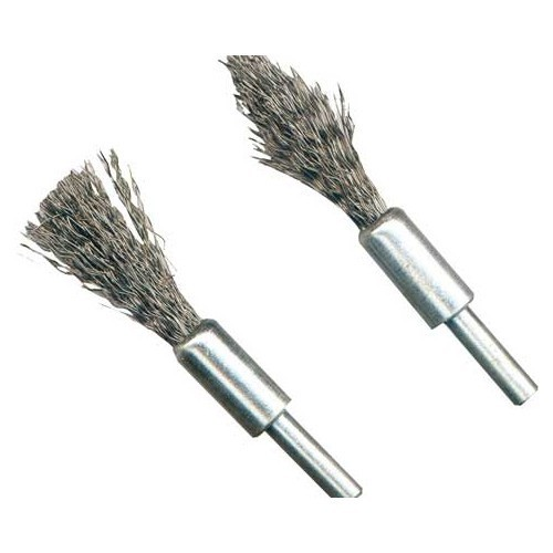 2 descaling pencil brushes