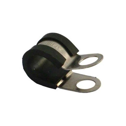 Rubber-Lined P Clip 16mm Pack 50