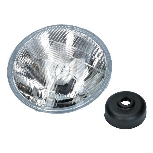 1 Sealed Beam H4 headlight for VW USA 7
