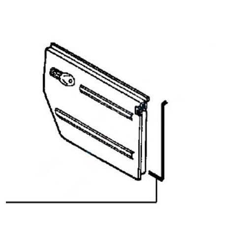 1 junta de puerta derecha para vw 181 181 837 912 b