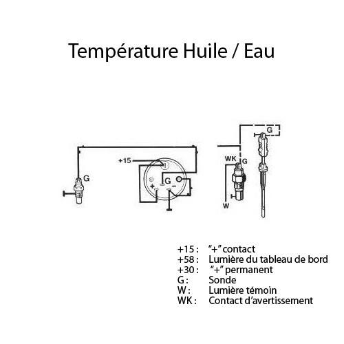 VDOscrew-in oil temperature sensor for VW Beetle & Combi