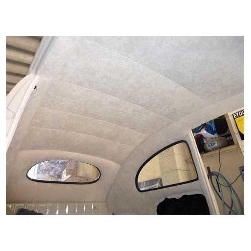 ciel de toit luxe en mohair ivoire pour cox 53 60 vw coccinelle mecatechnic. Black Bedroom Furniture Sets. Home Design Ideas