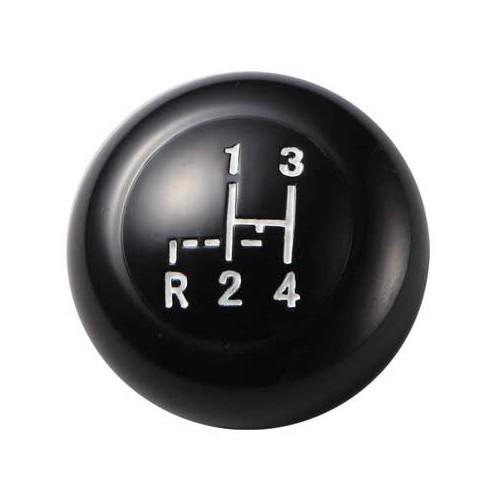 pommeau de levier de vitesses vintage speed 7 mm noir 155 sk black 7mm 155 sk black 7mm. Black Bedroom Furniture Sets. Home Design Ideas