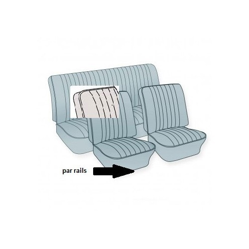 TMI seats covers VW Beetle - Mecatechnic
