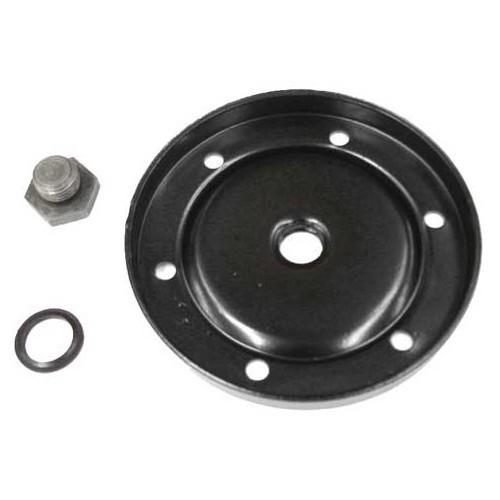 BEETLE Aluminium Sump Plate With Slanted Drain//Sensor Hole and Cooling Fins