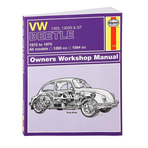 Technical guide for Volkswagen Beetle 1303