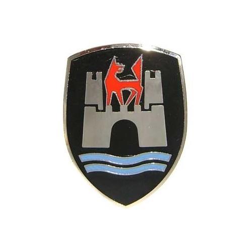 black wolfsburg badge for beetle 60 u003e62 113853621b 113 853 621b vw rh mecatechnic com