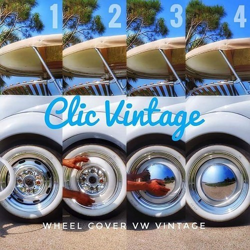 Vintage 15 Wheel Cover Solid Hubcaps Set Of 4