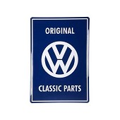 Plaque métal -Original VW Classic Parts-