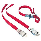 2 FIAMMA red STRIP belts for CARRY BIKE - l: 39 cm / 9.00 € ATI