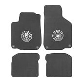 Set of 4 WOLFSBURG EDITION mats with logo for Golf 4