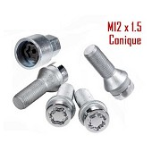 Set of 4 McGard anti-theft wheel bolts for VW with 4-hole aluminium wheels / 49.00 € ATI