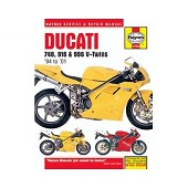 Technical guide for Ducati 748, 916 and 996 4S from 94 to 2001