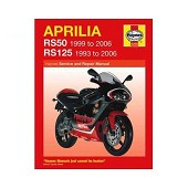 Haynes technical guide for Aprilia RS50 and RS125