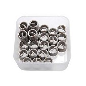 Filets rapportés - 25pcs - M6x1.0 / 6,50 € TTC