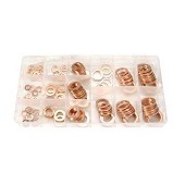 150-piece Copper O-Ring Assortment / 25.50 € ATI