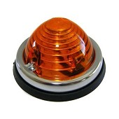 1 chrome edged orange light / 10.00 € ATI